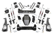 "2011-2019 GM 2500/3500HD 2wd/4wd Torsion Drop  5"" Lift Kit - Rough Country 10330"