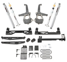 "2019-2020 Chevy & GMC 1500 2/4wd  6-8"" Adjustable Lift Kit - Belltech 150210SP"
