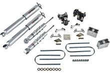 "2004-2012 Chevy Colorado 2WD/4WD 2/3"" Lowering Kit w/ Street Performance Shocks - Belltech 603SP"