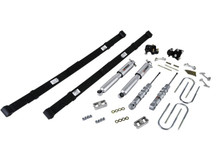 "2004-2012 GMC Canyon 2WD/4WD 2/4"" Lowering Kit w/ Street Performance Shocks - Belltech 604SP"