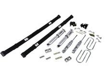 "2004-2012 Chevy Colorado 2WD/4WD 2/4"" Lowering Kit w/ Street Performance Shocks - Belltech 604SP"