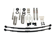 "2004-2012 Chevy Colorado 2WD/4WD 4/5"" Lowering Kit w/ Street Performance Shocks - Belltech 605SP"