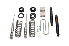 "2004-2012 Chevy Colorado 2WD/4WD 2/3"" Lowering Kit w/ Street Performance Shocks - Belltech 608SP"
