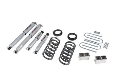 "1994-2004 Chevy S10 Standard Cab 2WD 3/3"" Lowering Kit w/ Street Performance Shocks - Belltech 630SP"