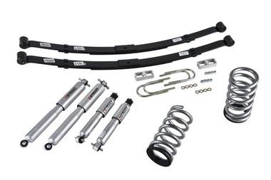 "1999-2004 Chevy S10 2WD (6 Cyl) 3/4"" Lowering Kit w/ Street Performance Shocks - Belltech 574SP"