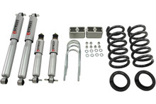 "1999-2004 Chevy S10 2WD (6 Cyl) 3/3"" Lowering Kit w/ Street Performance Shocks - Belltech 621SP"