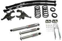 "1999-2004 Chevy S10 2WD (6 Cyl) 5/5"" Lowering Kit w/ Street Performance Shocks - Belltech 622SP"