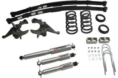 "1999-2004 Chevy S10 2WD (6 Cyl) 5/5"" Lowering Kit w/ Street Performance Shocks - Belltech 622SP"