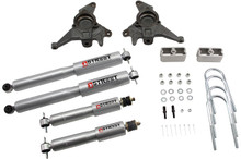 "1998-2004 GMC Jimmy 2wd 2/2"" Lowering Kit w/ Street Performance Shocks - Belltech 624SP"