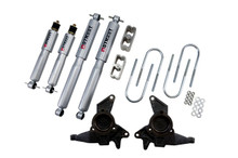 "1998-2004 GMC Jimmy 2wd 2/2"" Lowering Kit w/ Street Performance Shocks - Belltech 625SP"