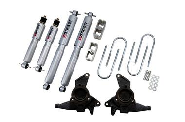 "1998-2004 GMC Jimmy 2wd 2/2"" Lowering Kit w/ Street Performance Shocks - Belltech 625SP"