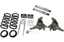"1998-2004 Chevy Blazer 2wd 4/3"" Lowering Kit w/ Street Performance Shocks - Belltech 626SP"