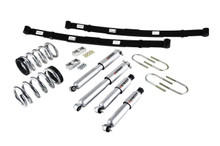 "1998-2004 Chevy Blazer 2wd 2/4"" Lowering Kit w/ Street Performance Shocks - Belltech 569SP"