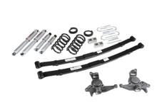 "1998-2004 Chevy Blazer 2wd 4/5"" Lowering Kit w/ Street Performance Shocks - Belltech 628SP"