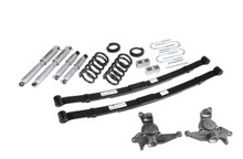"1998-2004 Chevy Blazer 2wd 4/5"" Lowering Kit w/ Street Performance Shocks - Belltech 628SP"
