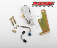 Non-Adjustable Brake Proportioning Valve W/ Bracket & Lines - McGaughys 64090 (Kit Pic)
