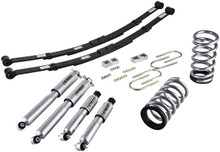 "1995-1997 Chevy Blazer 2wd (6 Cyl) 2/4"" Lowering Kit w/ Street Performance Shocks - Belltech 573SP"