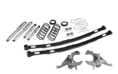 """1995-1997 Chevy Blazer 2wd (6 Cyl) 4/5"""" Lowering Kit w/ Street Performance Shocks - Belltech 633SP"""