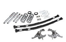 "1995-1997 GMC Jimmy 2wd (6 Cyl) 4/5"" Lowering Kit w/ Street Performance Shocks - Belltech 633SP"
