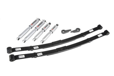 "1995-1997 Chevy S10 Blazer 4wd 1-3"" F / 3"" R Lowering Kit w/ Street Performance Shocks - Belltech 638SP"
