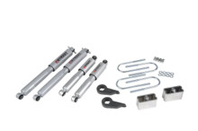 "1982-2004 GMC Jimmy 4wd 3/3"" Lowering Kit w/ Street Performance Shocks - Belltech 636SP"