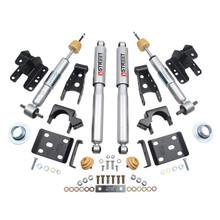 "2016.5-2018 Chevy Silverado 1500 2WD (Std Cab) +1-2/4"" Lowering Kit w/ Street Performance Shocks - Belltech 991SP"