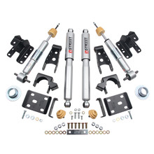 "2016.5-2018 GMC Sierra 1500 2WD (Std Cab) +1-2/4"" Lowering Kit w/ Street Performance Shocks - Belltech 991SP"