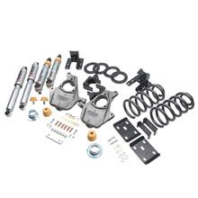 "2016.5-2018 Chevy Silverado 1500 2WD (Std Cab) 3/5"" Lowering Kit w/ Street Performance Shocks - Belltech 1012SP"