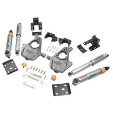 "2016.5-2018 Chevy Silverado 1500 2WD (Std Cab) 4/6"" Lowering Kit w/ Street Performance Shocks - Belltech 1014SP"