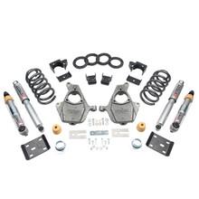 "2016.5-2018 GMC Sierra 1500 2WD (Std Cab) 4/7"" Lowering Kit w/ Street Performance Shocks - Belltech 1015SP"