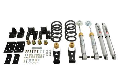 "2016.5-2018 GMC Sierra 1500 2WD (Ext Cab) 2/4"" Lowering Kit w/ Street Performance Shocks - Belltech 995SP"