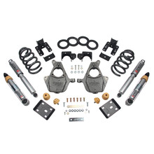 "2016.5-2018 Chevy Silverado 1500 2WD (Ext Cab) 4/6"" Lowering Kit w/ Street Performance Shocks - Belltech 1013SP"
