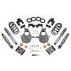 "2016.5-2018 GMC Sierra 1500 2WD (Ext Cab) 4/6"" Lowering Kit w/ Street Performance Shocks - Belltech 1013SP"