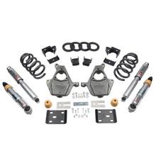 "2016.5-2018 GMC Sierra 1500 2WD (Ext Cab) 4/7"" Lowering Kit w/ Street Performance Shocks - Belltech 1016SP"