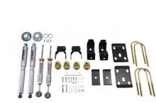 "2014-2016.5 GMC Sierra 1500 2WD (Std Cab) 3/7"" Lowering Kit w/ Street Performance Shocks - Belltech 993SP"