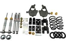 "2014-2016.5 GMC Sierra 1500 2WD (Ext Cab) 3/5"" Lowering Kit w/ Street Performance Shocks - Belltech 996SP"