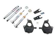 "2007-2013 GMC Sierra 1500 2WD (Std Cab) 2/3"" Lowering Kit w/ Street Performance Shocks - Belltech 639SP"
