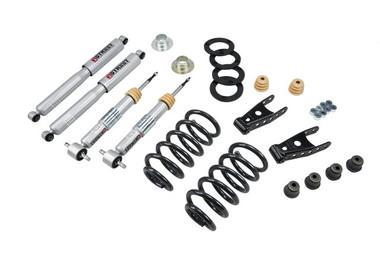 "2007-2013 GMC Sierra 1500 2WD (Std Cab) 2/2"" Lowering Kit w/ Street Performance Shocks - Belltech 640SP"