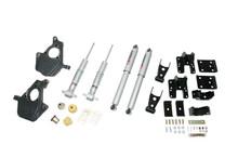 "2007-2013 Chevy Silverado 1500 2WD (Std Cab) 2/4"" Lowering Kit w/ Street Performance Shocks - Belltech 641SP"