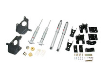 "2007-2013 GMC Sierra 1500 2WD (Std Cab) 2/4"" Lowering Kit w/ Street Performance Shocks - Belltech 641SP"