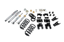 "2007-2013 Chevy Silverado 1500 2WD (Std Cab) 1/4""  Lowering Kit w/ Street Performance Shocks - Belltech 642SP"