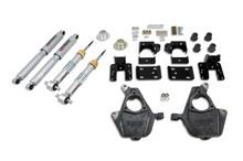 "2007-2013 Chevy Silverado 1500 2WD (Std Cab) 3/5"" Lowering Kit w/ Street Performance Shocks - Belltech 647SP"