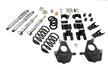 "2007-2013 Chevy Silverado 1500 2WD (Std Cab) 4/6"" Lowering Kit w/ Street Performance Shocks - Belltech 643SP"