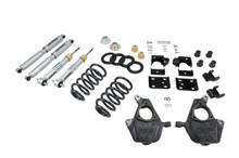 "2007-2013 Chevy Silverado 1500 2WD (Std Cab) 4/7"" Lowering Kit w/ Street Performance Shocks - Belltech 644SP"