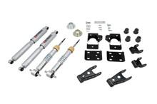 "2007-2013 Chevy Silverado 1500 2WD (Std Cab) 1/3"" Lowering Kit w/ Street Performance Shocks - Belltech 645SP"