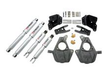 "2005-2006 GMC Sierra 1500 2WD (Std Cab) 2/3"" Lowering Kit w/ Street Performance Shocks - Belltech 946SP"