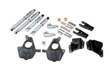 "2005-2006 GMC Sierra 1500 2WD (Std Cab) 3/4"" Lowering Kit w/ Street Performance Shocks - Belltech 656SP"