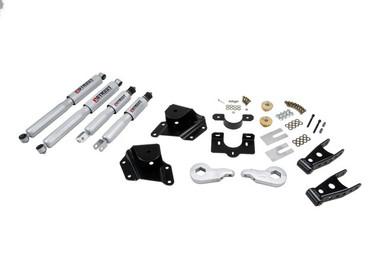 "2005-2006 GMC Sierra 1500 2WD (Ext Cab) 1/4"" Lowering Kit w/ Street Performance Shocks - Belltech 659SP"