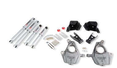 "2001-2006 Chevy Silverado 1500 2WD (Std Cab) 2/3"" Lowering Kit w/ Street Performance Shocks - Belltech 653SP"