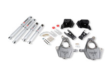 "2001-2006 GMC Sierra 1500 2WD (Std Cab) 2/3"" Lowering Kit w/ Street Performance Shocks - Belltech 653SP"